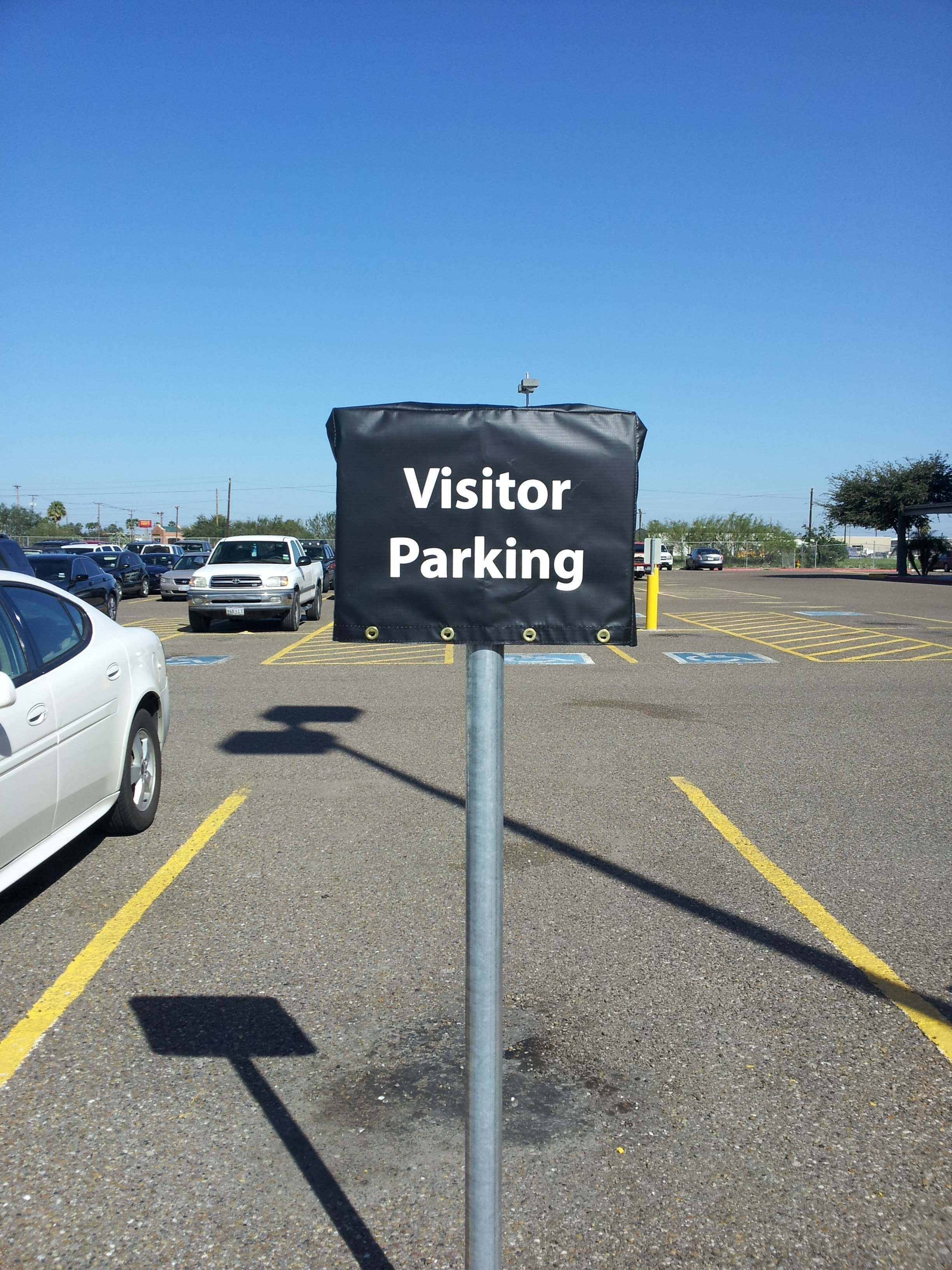 Parking Sign Cover