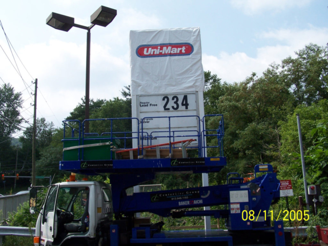 Signcovers, Sign bags, Uni-Mart