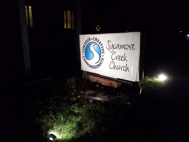 Signcovers, Sign Bags, Sycamore Creek Church