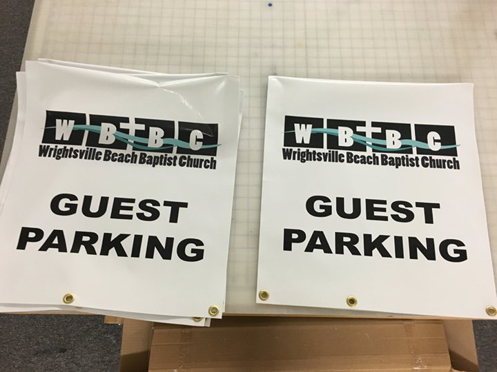 SignCovers, WBBC, Guest Parking