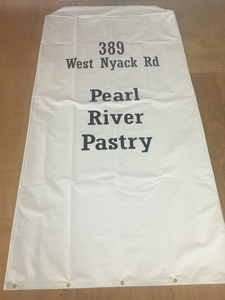 Signcovers, Sign Bags, West Nyack Rd, Pearl, River, Pastry