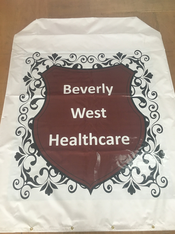 Signcovers, Sign Bags, Beverly West Healthcare