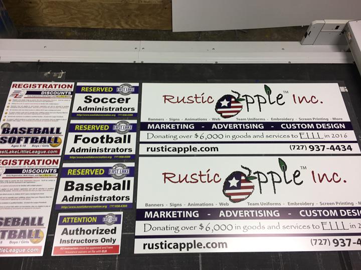 Signcovers, Sign Bags, Rustic Apple Inc, Marketing, Advertising, Custom Design