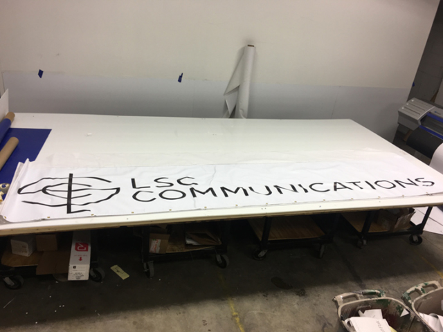 Signcovers, Sign Bags, LSC Communications