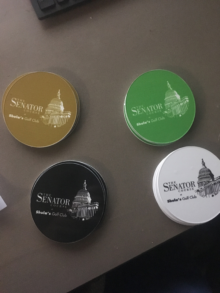 Signcovers, Sign bags, The Senator course
