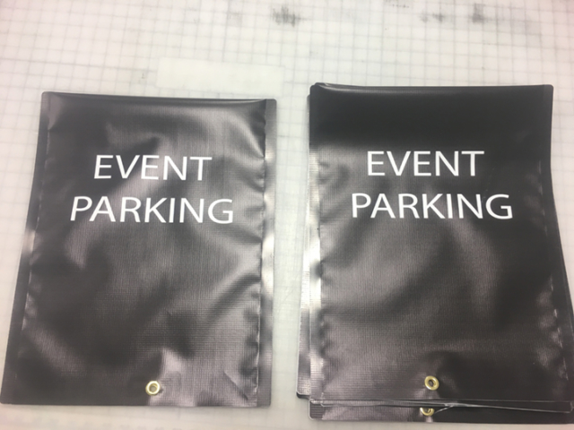 Signcovers, Parking sign, Event Parking