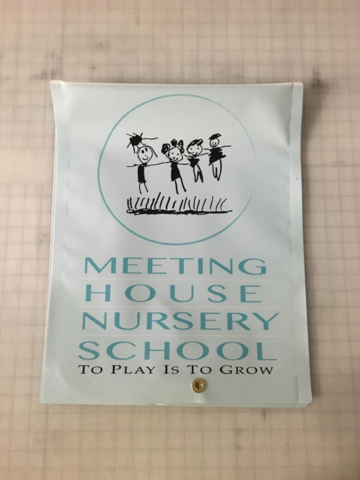 Signcovers, Meeting House Nursery School, Parking sign