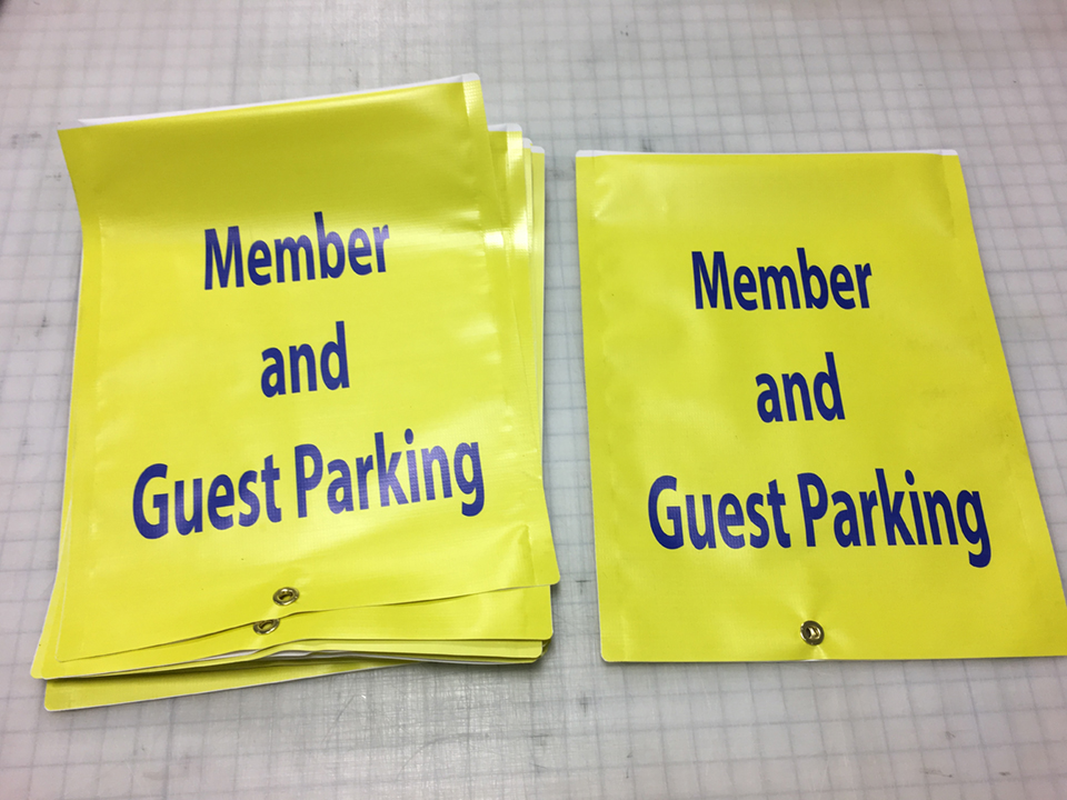 Signcovers, Parking Sign, Member and Guest Parking
