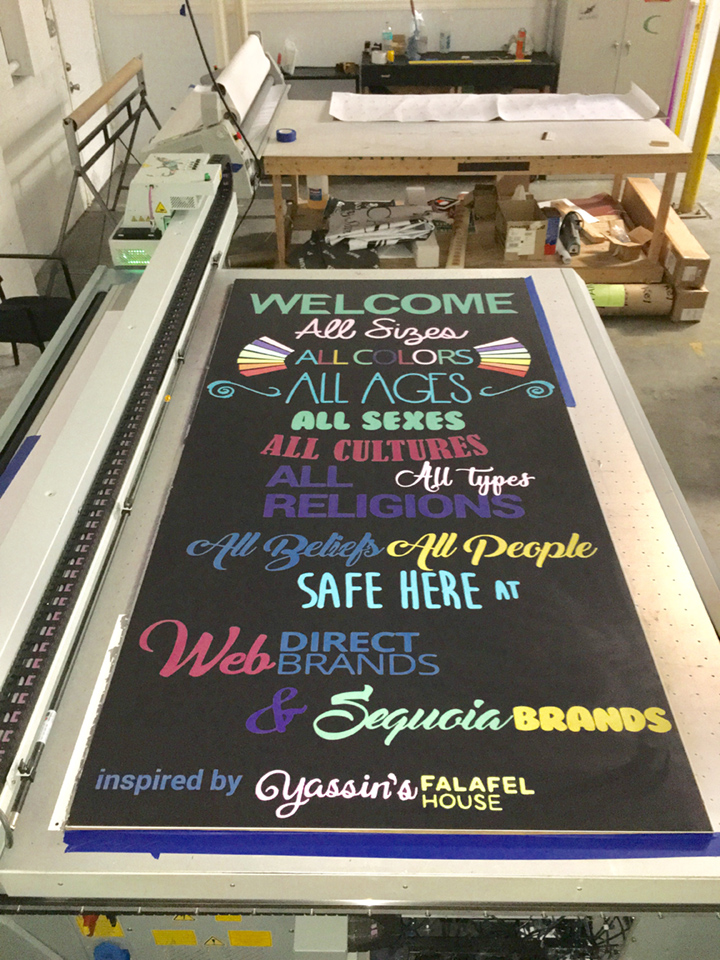 Signcovers, sign bags, Welcome, all sizes, all colors, all ages, all sexes, all cultures, all religions, all types, all beliefs, all people, safe here at Web direct brands
