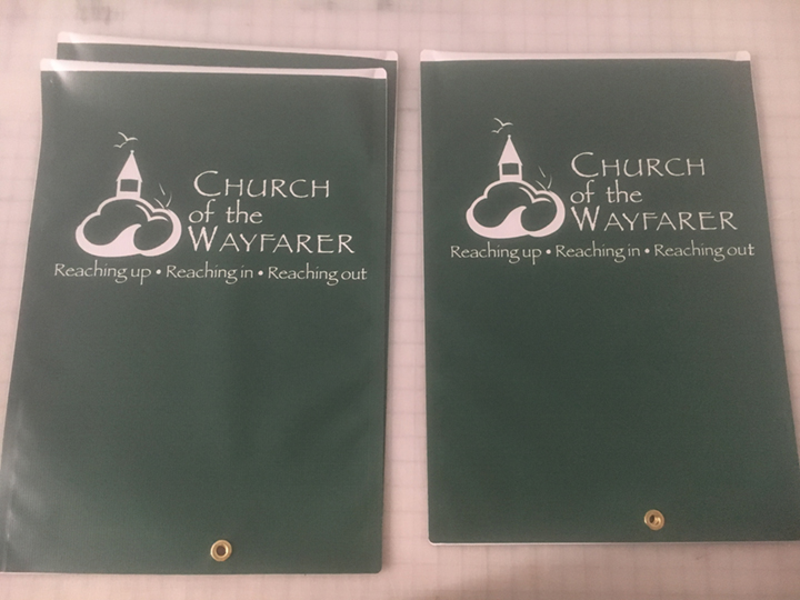 Signcovers, Church of the Wayfarer, Parking sign