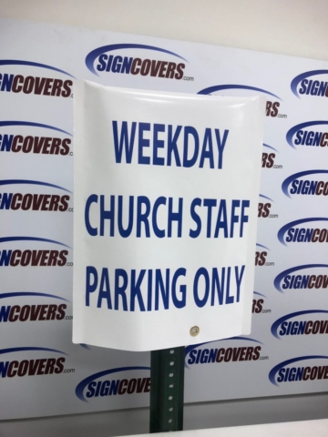First Baptist Church of Venice-Parking Sign Cover