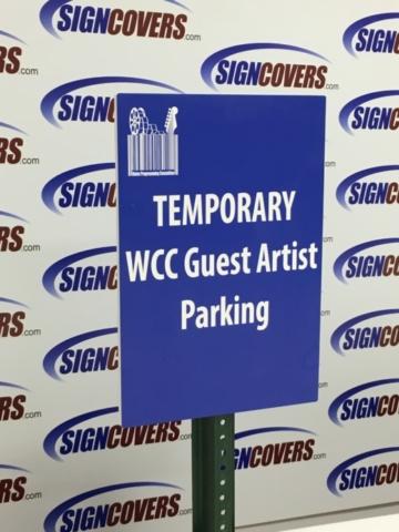 Slide Covers, Parking sign, Guest Artist, WCC