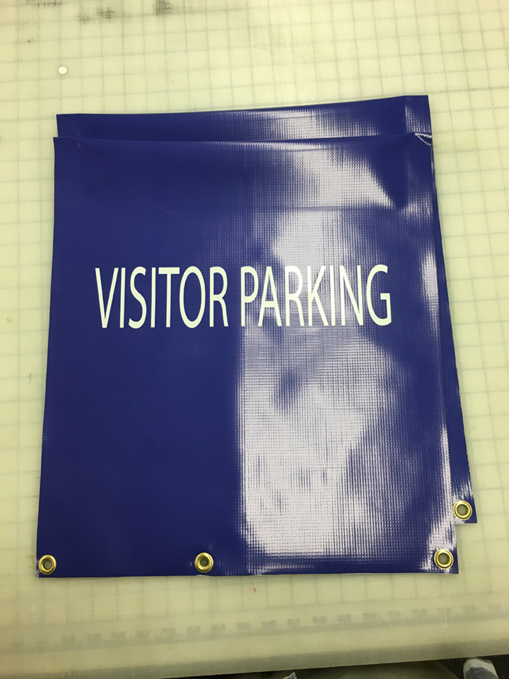 Signcovers, Parking sign, Visitor Parking