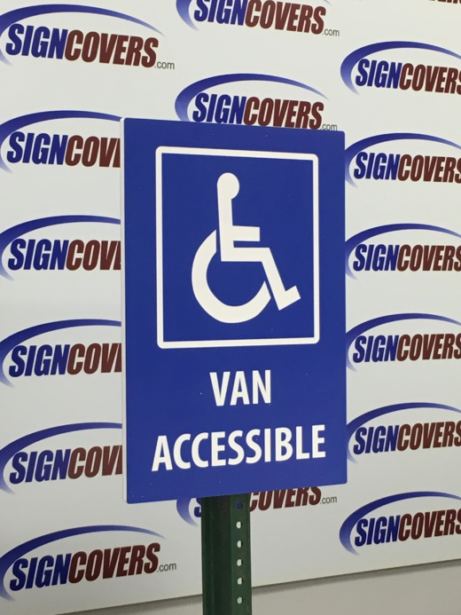 Slide Covers, Paking sign, Van Accessible